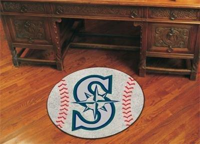 (Fanmats Seattle Mariners Baseball Mat - 6415)