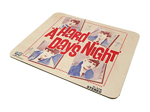 The Beatles Mouse Mat Pad A Hard Days Night Band Logo Official