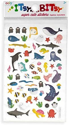 Marine Friends OOLY Itsy Bitsy Stickers