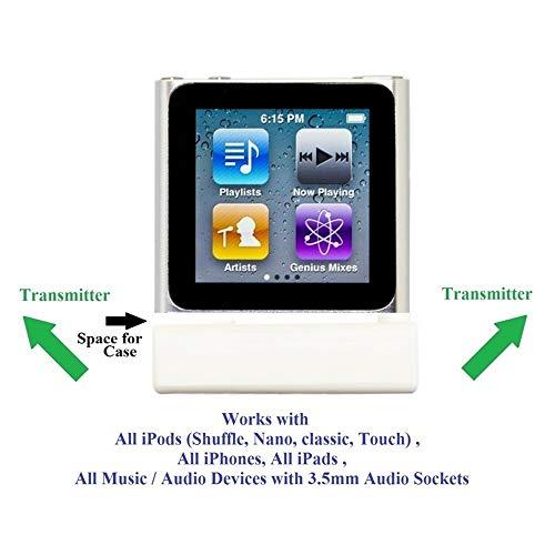 KOKKIA iSPLITTER (White) : iAdapter Multi-Streaming Bluetooth Stereo Transmitter Splitter. by KOKKIA (Image #2)