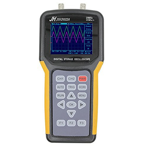 Handheld Digital Storage Oscilloscope 20Mhz Double Channel 200Msa/s Sample Rate JDS2022A Handheld Oscilloscope