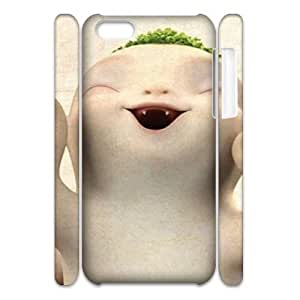 WEUKK Creative radish iPhone 5C 3D cover case, customized cover case for iPhone 5C Creative radish, customized Creative radish cell phone case