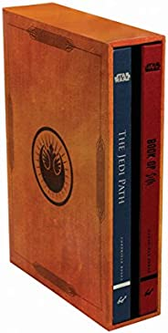 Star Wars®: The Jedi Path and Book of Sith Deluxe Box Set (Star Wars Gifts, Sith Book, Jedi Code, Star Wars Bo