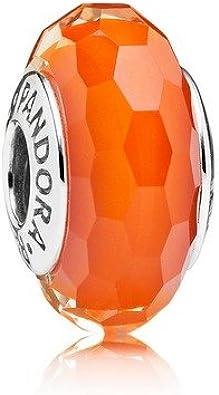 charm pandora arancione