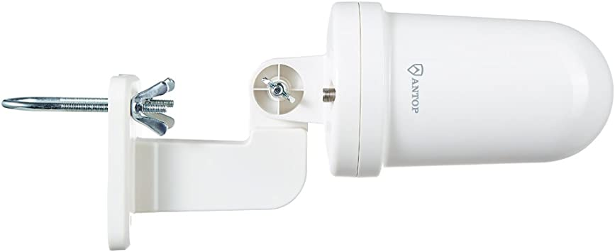 ANTOP AT-416B UFO 360 Amplified Outdoor 30//40 Mile Omni-Directional TV Antenna