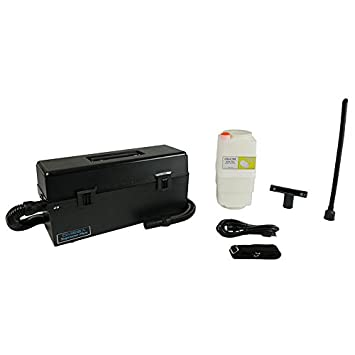 Atrix Omega Supreme Cleanroom Vacuum, Medium, Black