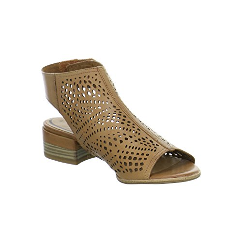 Tamaris 1-1-28217-28/440 - Sandalias de vestir de Piel para mujer mittel-braun