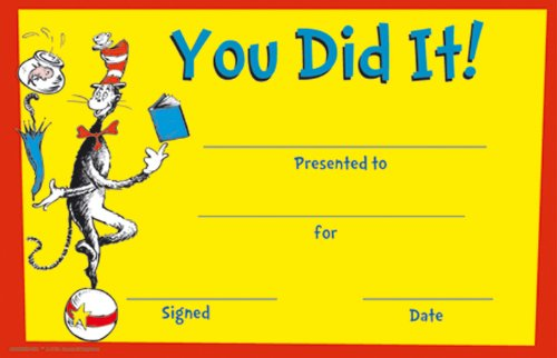 Eureka Cat in the Hat You Did It! Recognition Awards (844800)