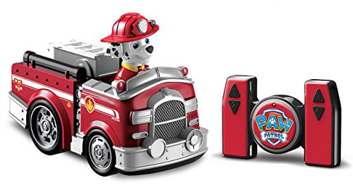 paw patrol my first rc marshall rescue racer remote