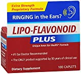 LIPO-FLAVONOID Plus Caplets 100 ea (Pack of 3)