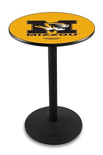 Holland Bar Stool L214B University Missouri Officially Licensed Pub Table, 28