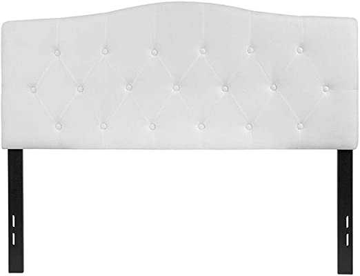 Amazon Com Offex Upholstered Full Size Button Tufted Diamond