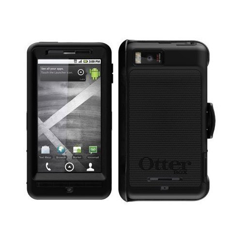 new product 63ff9 5bb7d OtterBox Defender Case Cover W/Belt Clip Fits Motorola Droid X2, Includes  Screen Protector