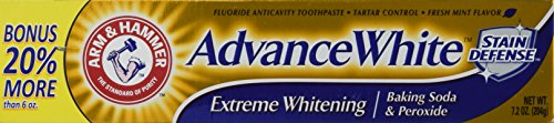 (Arm And Hammer Advance White Tube, 3 Count)