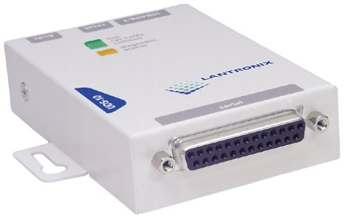Lantronix Uds-10 Device Server DB25 Port RJ45 Port for Enet 110 Vac Pwr Sup by Lantronix