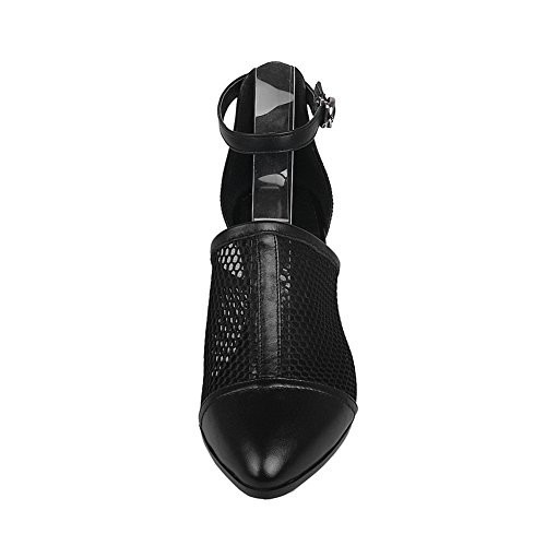 1to9 Negro Para De Sandalias Vestir Mujer rqprwP