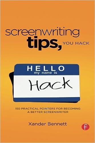 Amazon screenwriting tips you hack 150 practical pointers for screenwriting tips you hack 150 practical pointers for becoming a better screenwriter 1st edition fandeluxe Image collections