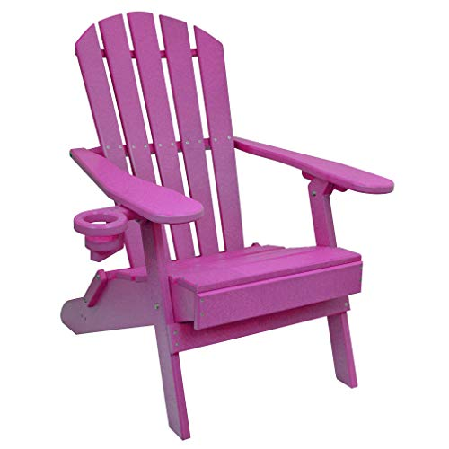 - Outer Banks Value Line Poly Lumber Adirondack Chair (Purple)