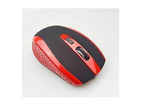 JxucTo Ratones ópticos inalámbricos USB inalámbricos ergonómicos del ratón con Ajustables para los Ordenadores portátiles y el Ordenador portátil del ...
