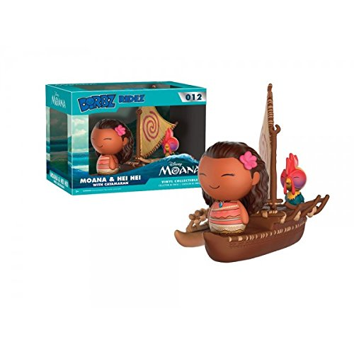 Funko Dorbz Ridez Moana   Hei Hei With Catamaran 012   Gamestop Exclusive
