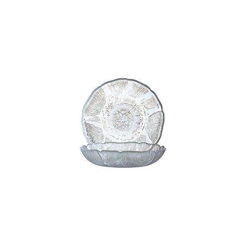Cardinal 8781 Arcoroc Fleur 10 oz Compote Dish - Dozen (Round Compote)