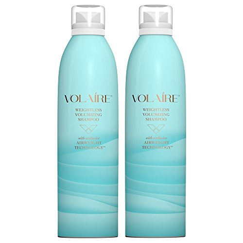 Price comparison product image Volaire Weightless Volumizing Shampoo for Everyday Effortless Volume - Sulfate Free | Paraben Free | Safe for Color Treated Hair, 10.5 Oz (2 Pack)