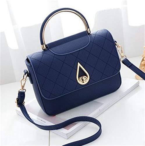 Otoño color De El Una Girl Pack Azul Tamaño The Female En Single Eeayyygch Oscuro Bag Bolsa Azul Handbag Cielo Paquete Stereotypes Shoulder waBzqE8