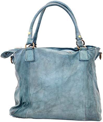 BZNA Bag Emy Alt Sac à main en cuir pour femme Rose