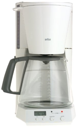 Braun KF180-WH FlavorSelect 12-Cup Coffeemaker