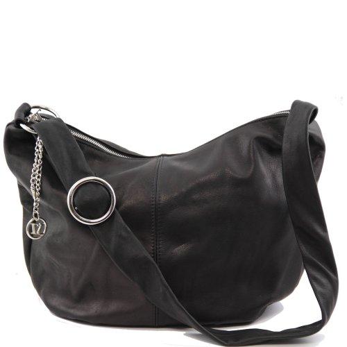 Tuscany Leather, Borsa a spalla donna Nero nero