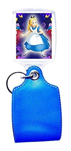 Llavero azul Alice nel paese delle meraviglie 4: Amazon.es ...