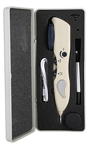 Acupuncture Massage Pen, 10.8 x 4.5 x 2 inch Digital Electronic Health Care and Pain Relief Pointer Tool Set