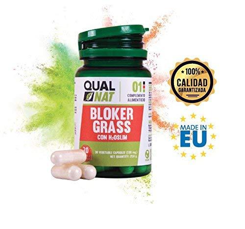 Captagrasas Bloker Grass - Capta grasas para el control de peso de manera natural - Complemento alimenticio para adelgazar si se acompaña de una dieta saludable - 30 cápsulas 7