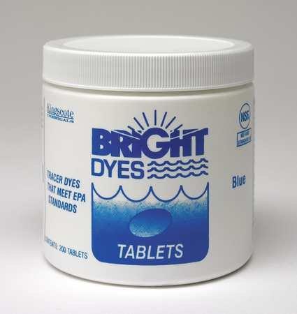 Dye Tracer Tablet, Blue, PK200
