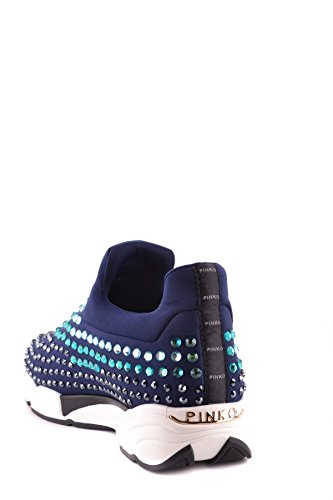 Pinko Slip On Sneakers Donna MCBI242228O Tessuto Blu
