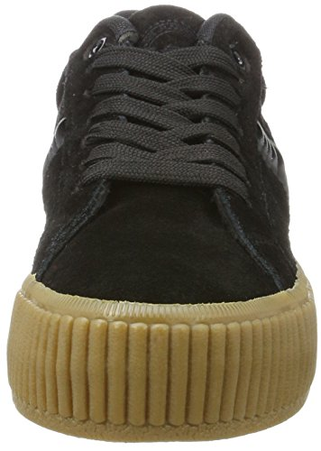 a Flame Femme black Gear Schwarz crepe Baskets Vulcanized L wOd4qxw