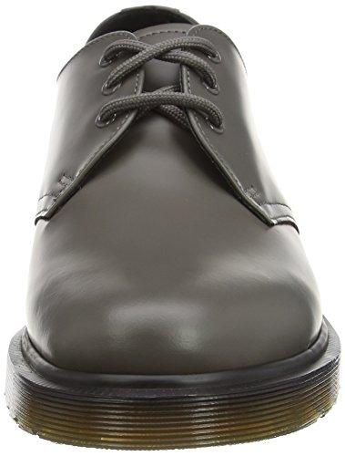 Dr. Martens 1461 Smooth Last 84 - Zapatos de Vestir Unisex adulto Gris (Charcoal)