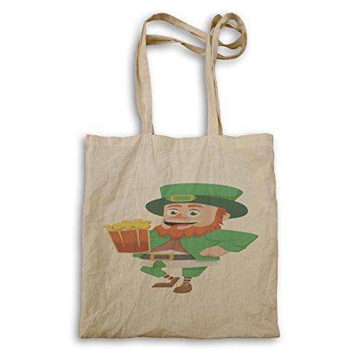 St Patrick Tag Irisch Lustig Irland Tragetasche b279r