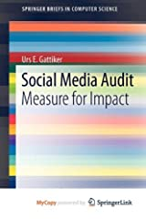 Social Media Audit: Measure for Impact Paperback