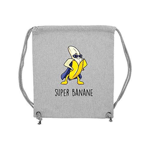Banane gym Gris Super Coton Lmk Sac Lookmykase Xq4xgw675