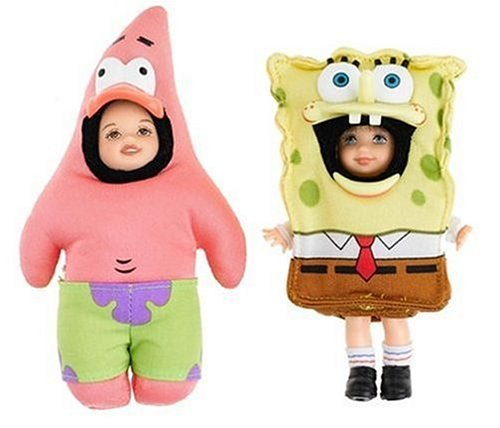 Kelly and Tommy as SpongeBob SquarePants and His Friend Patrick