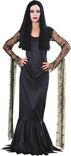 Adams Family Morticia Costume Size: Medium (Family Halloweencostumes)