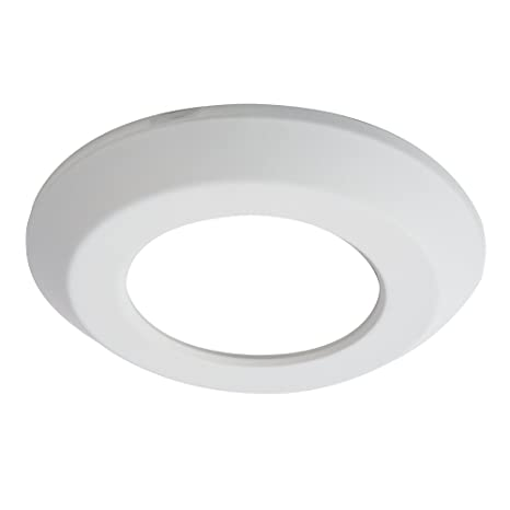 "Halo sld4trmwh pintable Anillo embellecedor para sld4 serie LED Disco Luz, 4 "","