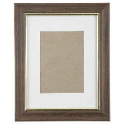 7105014089957, SKILCRAFT Walnut Vinyl Frames, Certificate/Photo, 8 1/2x11, 12/CT