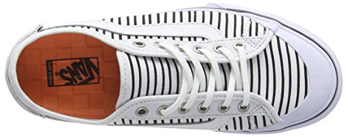 Vans Black Ball Sf - Zapatillas Mujer Blanco (just Stripes/true White/black)