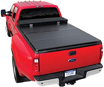 Amazon Com Extang 84410 Tonneau Cover Solid Fold 2 0 Toolbox Series Fits Ford F150 6 1 2 Ft Bed 09 14 Automotive