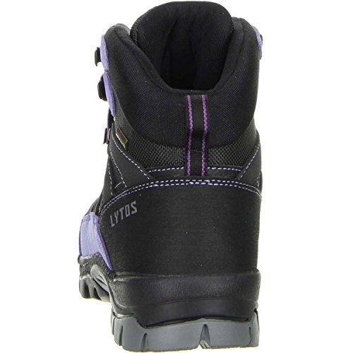 Damen Outdoorschuhe schwarz LYTOS Schwarz Größe Wanderschuhe 36;Farbe q8HxxwT71
