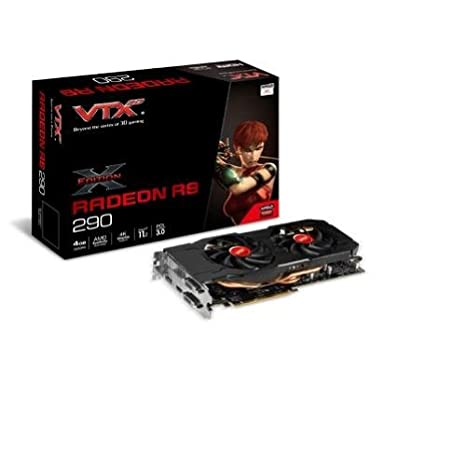 VTX3D VXR9 290 4GBD5-DHX Radeon R9 290 4GB GDDR5 - Tarjeta ...