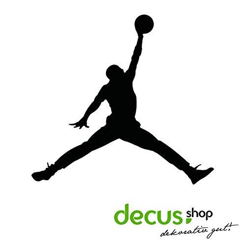 Autocollant Logo Michael Jordan Air Basketball OEM JDM style Sticker well-wreapped