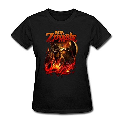 RZF Women's Rob Zombie Hellbound T-Shirt-L Black